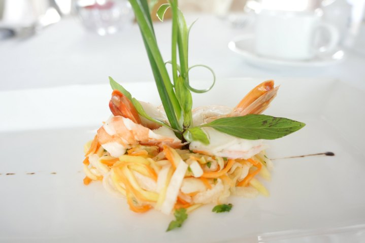Lunch at Signature Cruise Halongbay