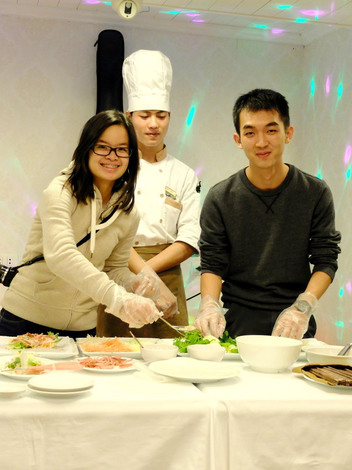 Cooking Class at Halongbay Cruise
