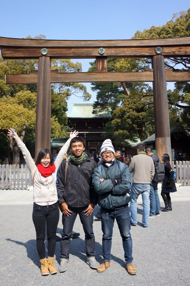 Meiji Shrine Japan
