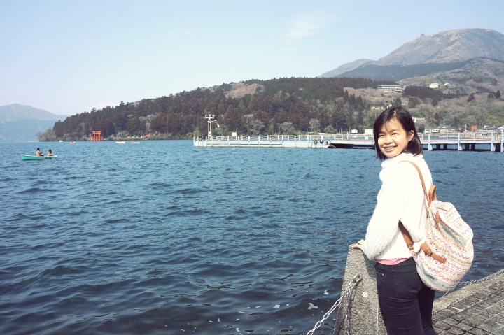 Sharon Loh Ashi Lake Hakone