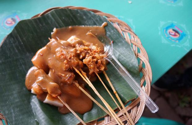 Sate Padang Festival Jajan Bango
