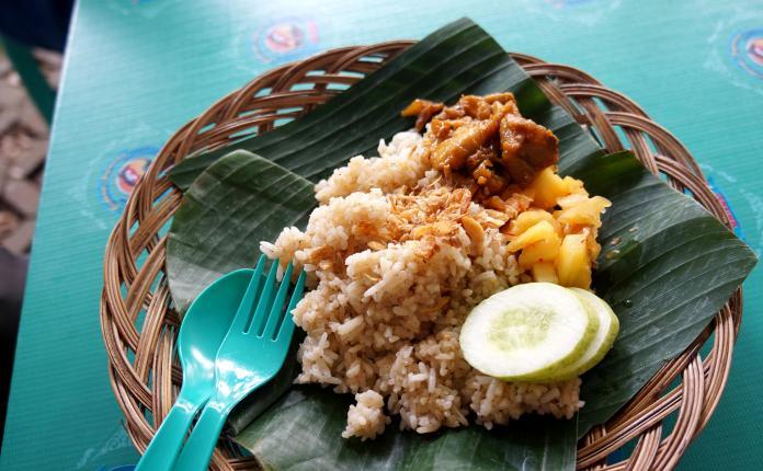 Nasi Minyak Jambi Festival Jajan Bango