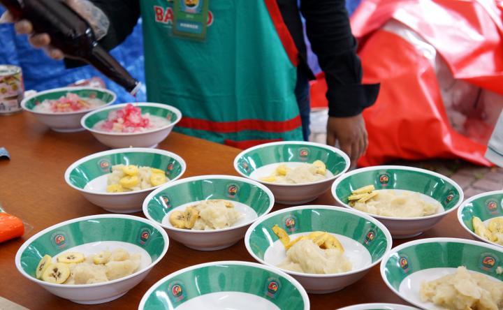 Es Palu Butung Festival Jajan Bango