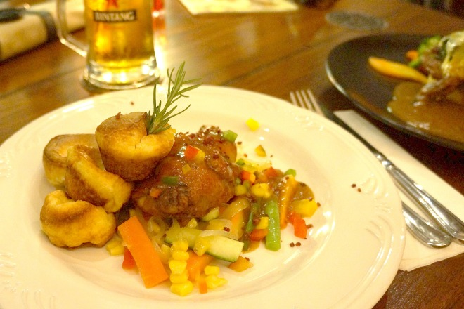 Royal Stag Bistro Food