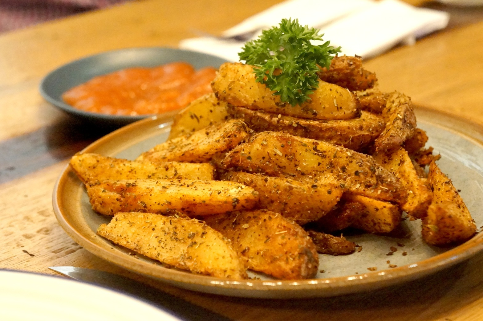 Potato Wedges Booster Society