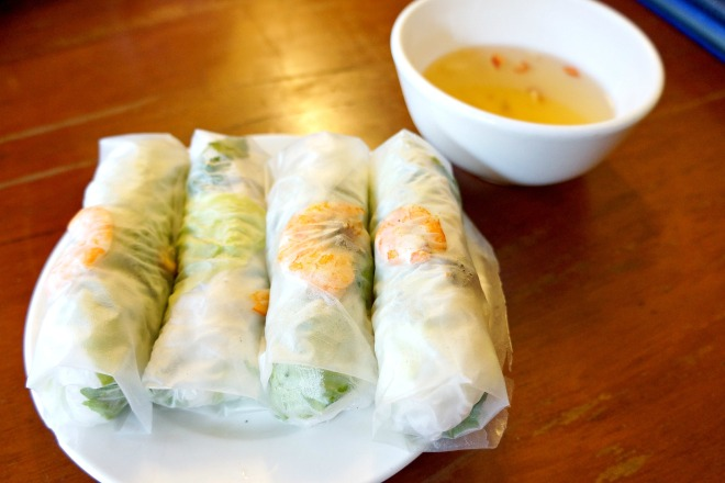 Gỏi cuốn vietnamese spring roll