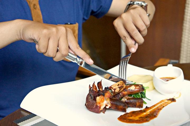 Lunch Purnawarman Hilton Bandung