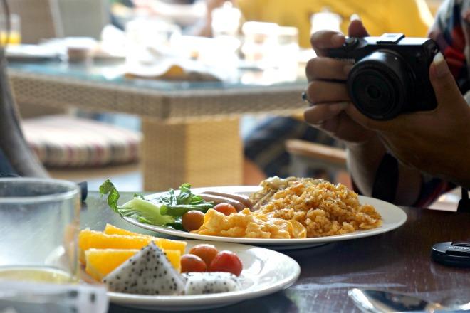 Breakfast Hilton Bandung