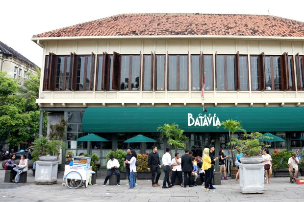 Cafe Batavia Jakarta