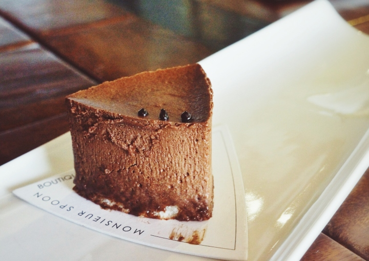 Chocolate Mousse Monsieur Spoon Bali