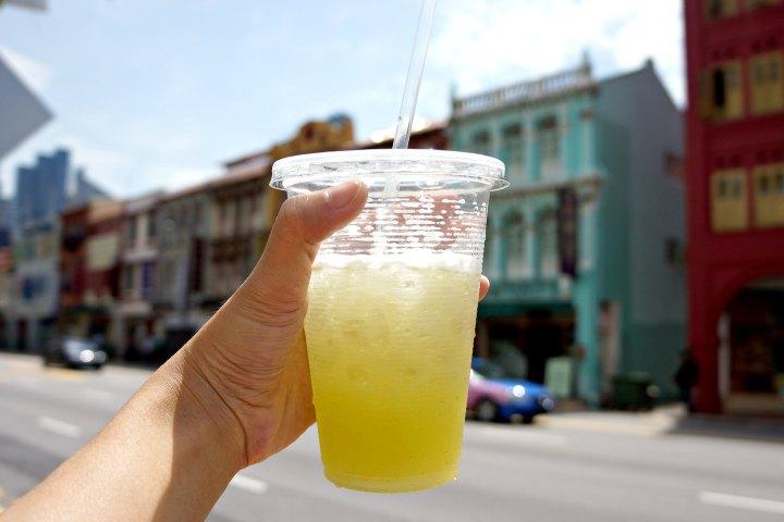 Iced Sugar Cane Singapore