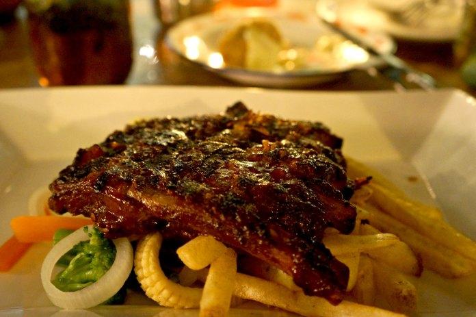 Pork Ribs Nebula Room Bali