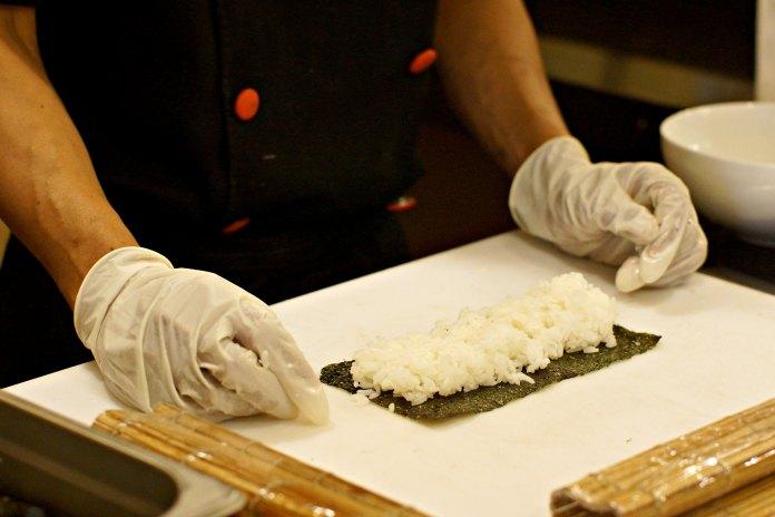 Sushi Class at Ara Hotel Serpong