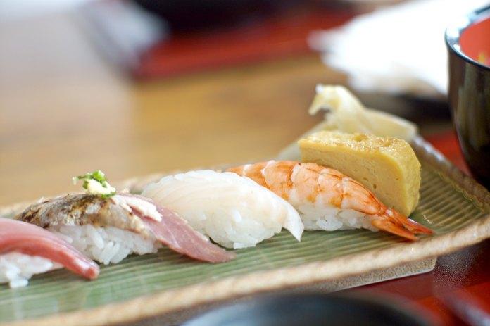 Sushi at Takumi Jakarta