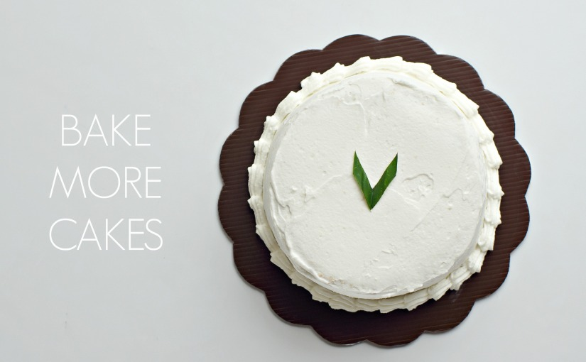 Bake More Cakes – My New Online Cake Shop