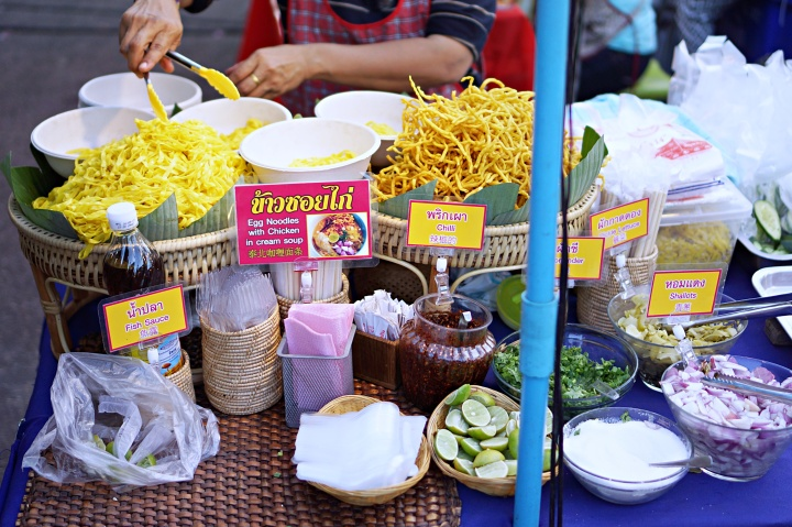 Khao Soi at Sunday Night Market