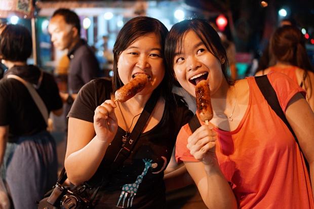 Chiang Mai Gate Food Market