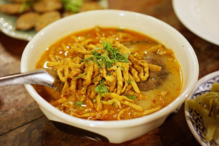 Khao Soi at Huen Muan Jai Chiang Mai