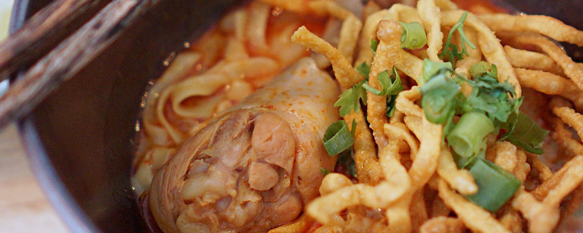 Khao Soi at KaoSoi13 Chiang Mia