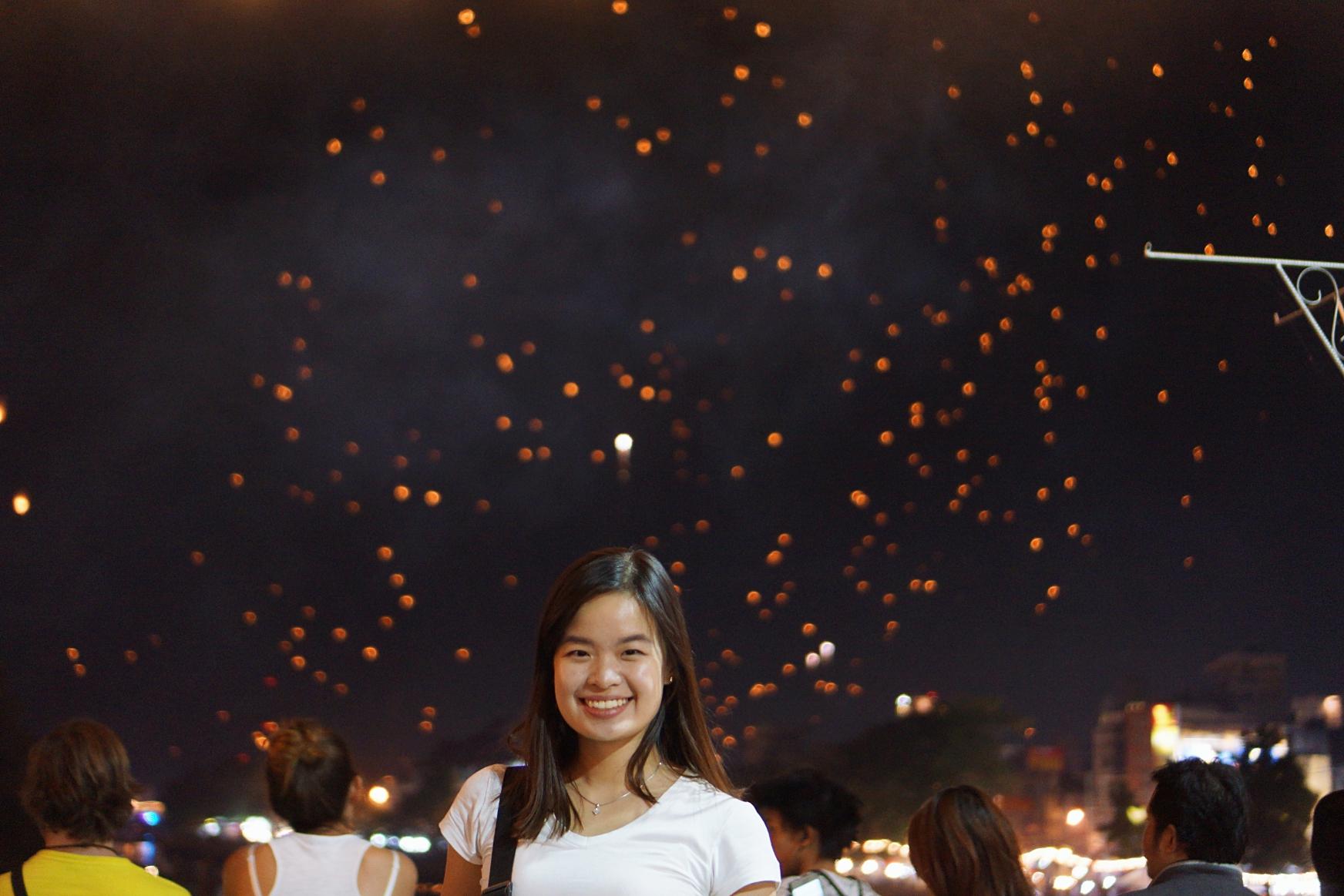 Loy Krathong Yi Peng Chiang Mai