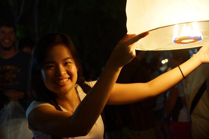 Yi Peng Festival in Chiang Mai