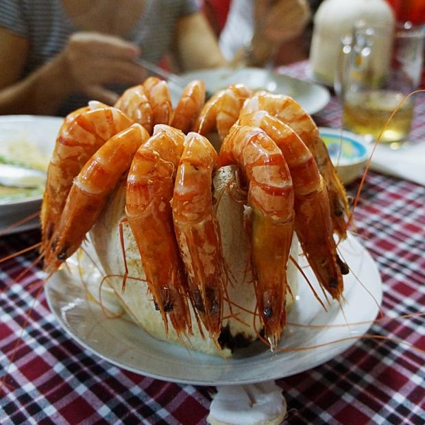 Coconut Shrimp in Saigon