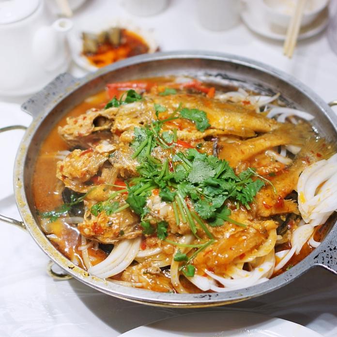 Macau food dinner