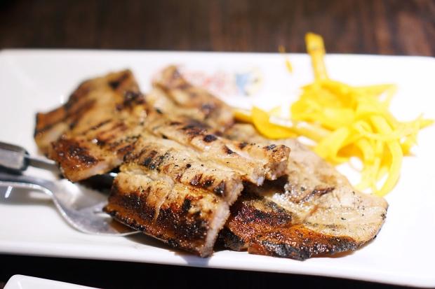 filipino food Inihaw na Liempo (Grilled Pork Belly)