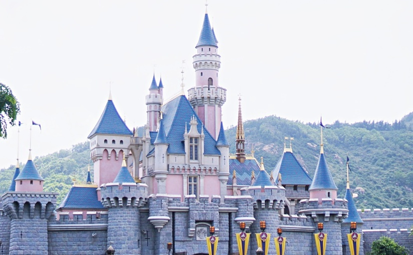 One Day in Hong Kong Disneyland