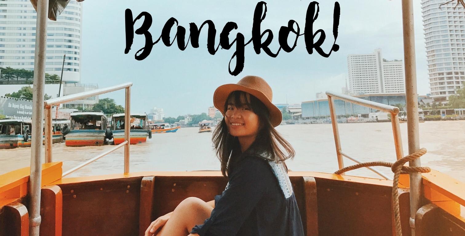BANGKOK IN ONE DAY TRAVEL BLOG