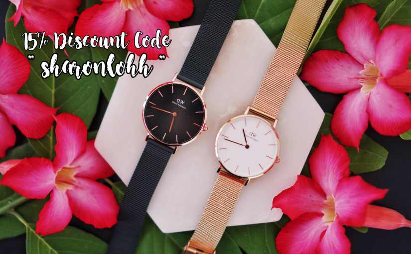 Honeymoon di Bali x Daniel Wellington Classic Petite Ashfield