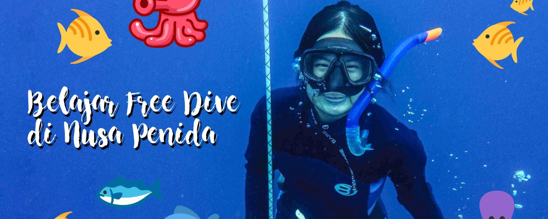 belajar freedive di nusa penida bali