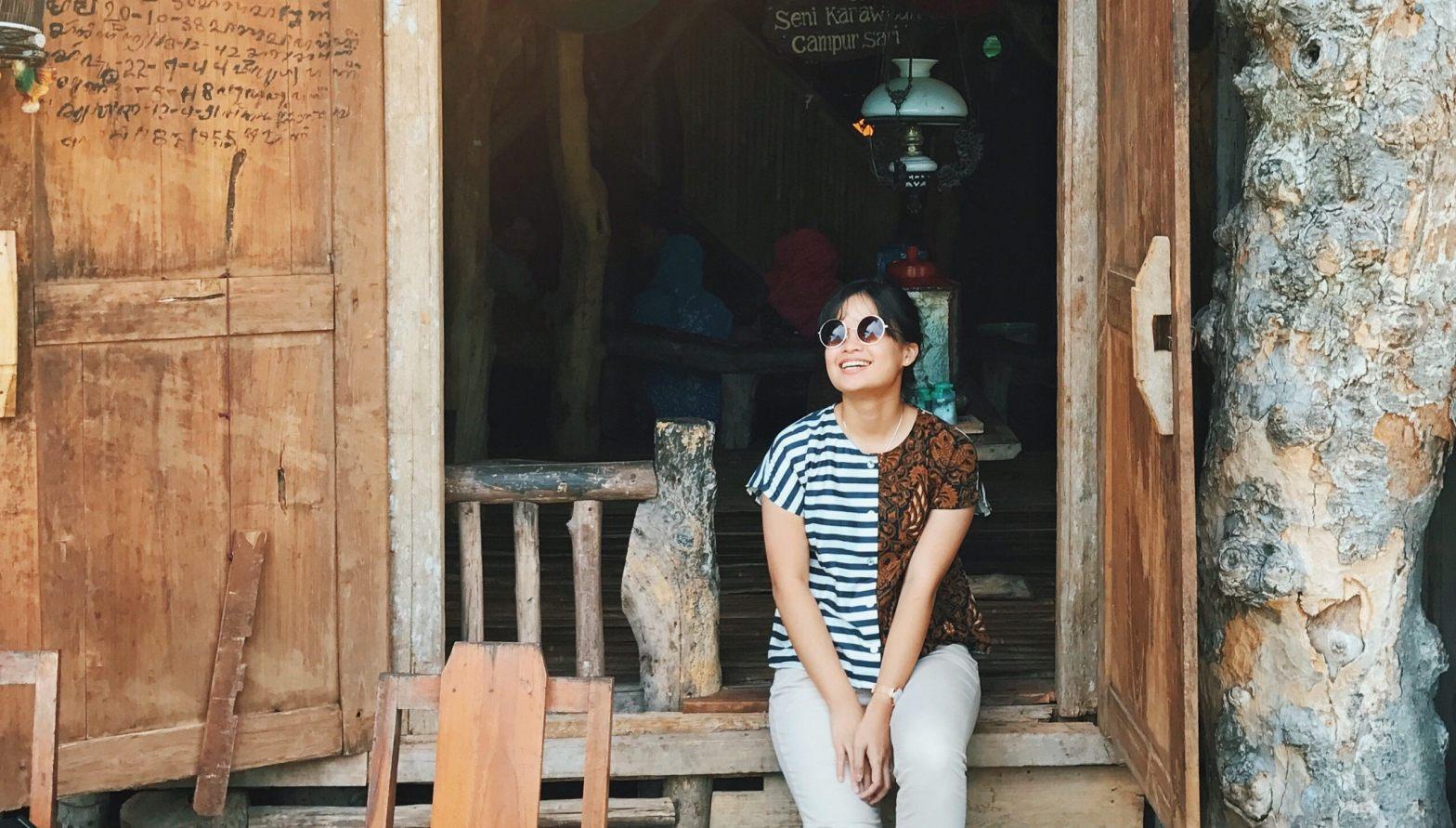 sharon loh indonesian food travel blogger