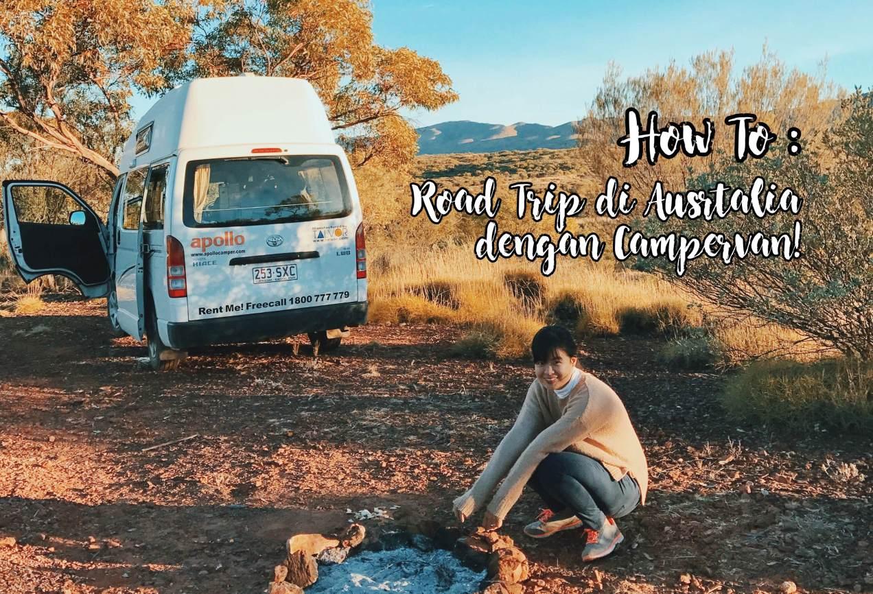 cara road trip di australia menggunakan campervan