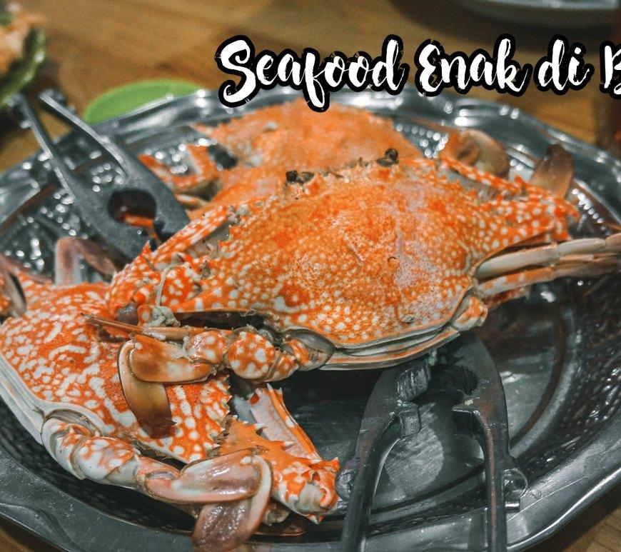 Seafood Enak di Belitung